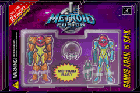 Link Your Copy Of Metroid Zero Mission To Another Game Boy Advance With Fusion This Will Unlock All The Ending Art From In
