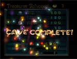 Cave Complete screen in Pikmin 2