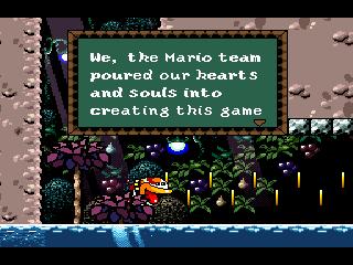 Arrow Pointing Down >> Super Mario World 2: Yoshi's Island   NinDB